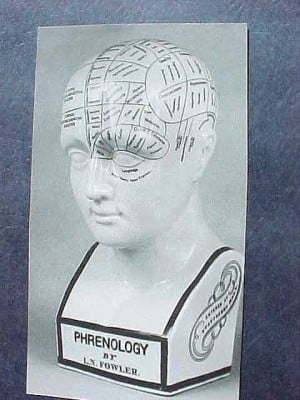 Antiques & Collectibles: Hole in phrenology head is a clue to its age