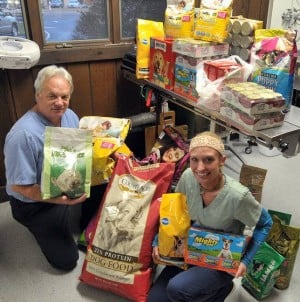EHT veterinarian holds supply drive for pets after Sandy