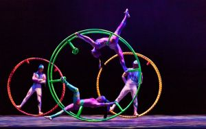 At The Shore Today: Circus performs in Millville