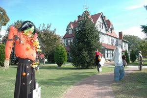Scarecrow Alley contest under way at Cape May's Emlen Physick Estate