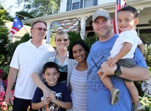 Staff Sgt. Patrick Carney returns from Iraq to stay