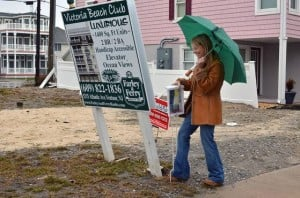 Barrier island agents doing property checks, relocation