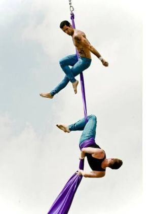A show of Cirque stunts tops our list of fun At The Shore Today
