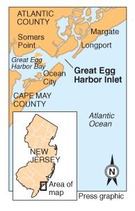 Great Egg Inlet map