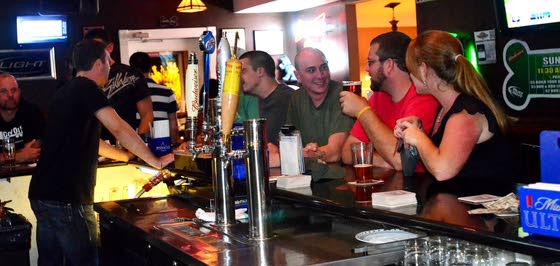 Bulldog's Bar and Grille barks up a party tree