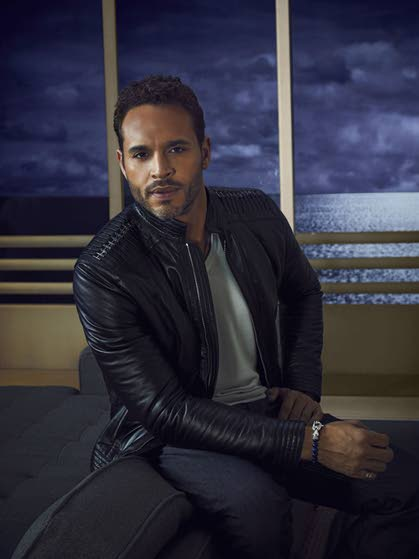 Daniel Sunjata says grace  led him to USA's 'Graceland'