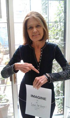 Yoko Ono, Gloria Steinem and Lauren Bush join global female empowerment campaign