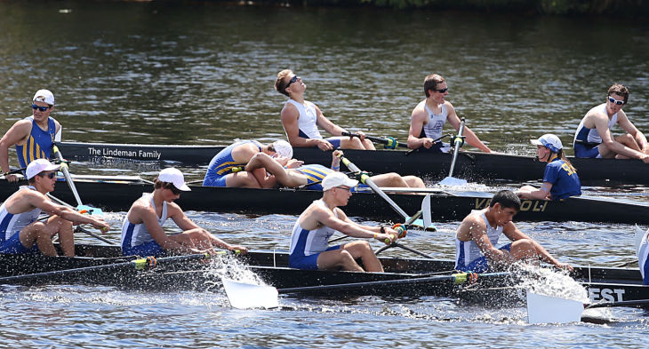 County crew rowing