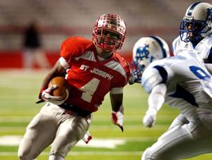 Gordon Hill runs for 3 TDs as St. Joseph crushes St. Mary's 40-0 for 13th state title