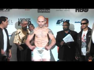 Romero-Martinez weigh-in at Revel in Atlantic City