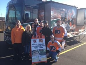 flyers fan bus