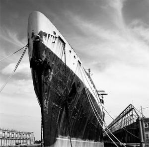Photographing a liner's legacy