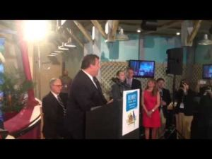 New Jersey Gov. Chris Christie at Resorts' Margaritaville