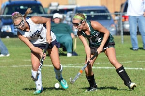 Mainl Field Hoc: Monday September 23 2013 Mainland at Atlantic City girls Field Hockey. (The Press of Atlantic City / Ben Fogletto) - Photo by Ben Fogletto