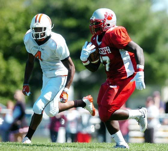 St. Joseph football gets back on track in big way vs. Middle Township