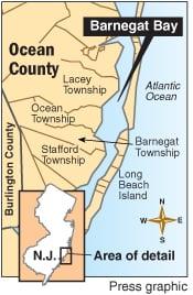 Barnegat Bay map