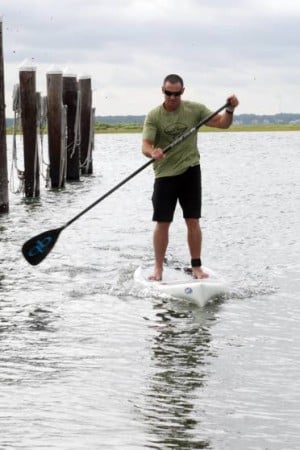 Sand in My Shoes: Stand-up paddleboards the ride of choice at this year's around-the-island event