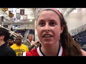 Interview with O.C.'s Mary Kate Mateer about winning a state title, March 10, 2013