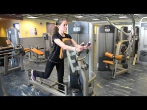 Your workout: Rear glute extension