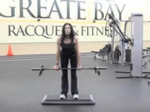 Your workout: Straight Leg Deadlift