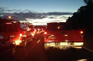 Sandy Xway traffic