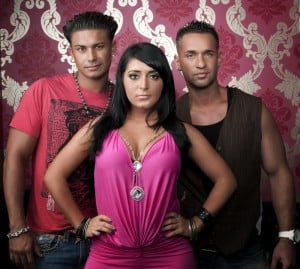 'Jersey Shore' -- Pauly, Angelina, Mike