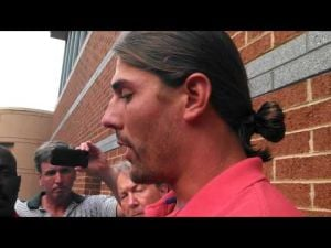 Riley Cooper talks to the media about using racial slur, part 2