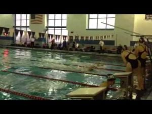 Atlantic City vs. Vineland girls playoff swim meet
