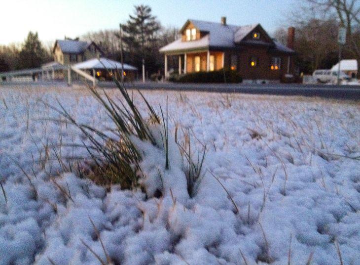 Cape snow