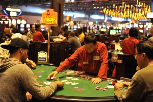Pa. Casinos 17: The legalization and introduction of table games in Pennsylvania in 2010 made the state's casinos more popular.  - Press photo by Chris Post