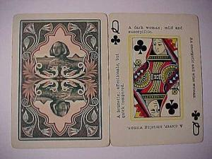 Old-fashioned fortunetelling cards are today's collectibles
