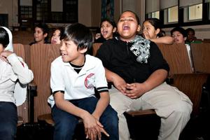 A.C. students learn about healthy teeth in Sugar-Less Day at Texas Avenue School