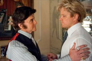 Trouble With A Tell-all Liberace Biopic Was Too Much For Movie Studios: Michael Douglas, left, is Liberace, and Matt Damon, plays his young lover, Scott Thorson, in HBO's 'Behind the Candelabra.' Director Steven Soderbergh turned to the cable channel when major movie studios wouldn't distribute the film.