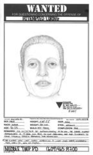 Suspect: Middle Wonship suspect in luring  - Photo by Police Sketch