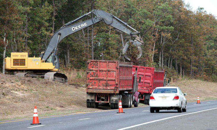 Reconstruction Of Parkway 39 S Southern Stretch Continues Atlantic County