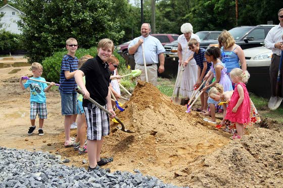 South Seaville UMC breaks ground on new church
