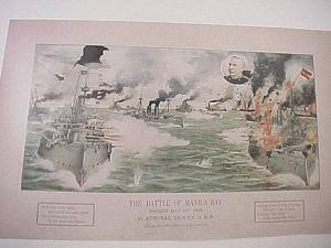 Antiques & Collectibles: Spanish-American War art records key naval events