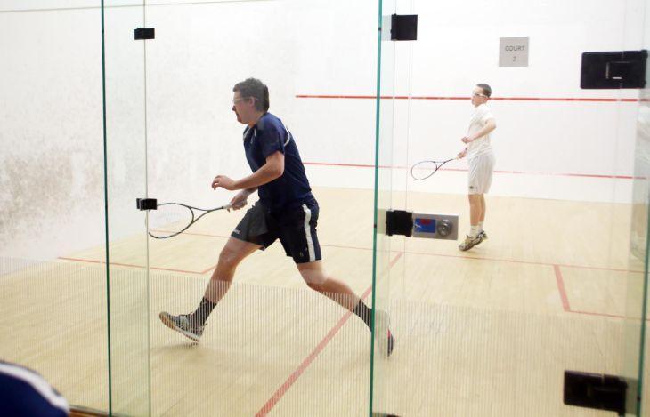 St Augustine vs St. Joe Prep of Philadelphia squash match
