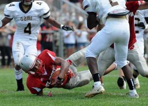 St. Joseph football Cody Sampson