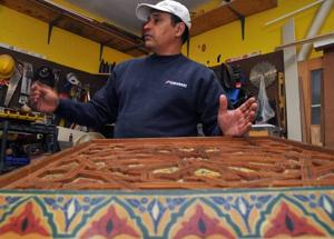 Egg Harbor Township carpenter uses skills, background to put art in homes