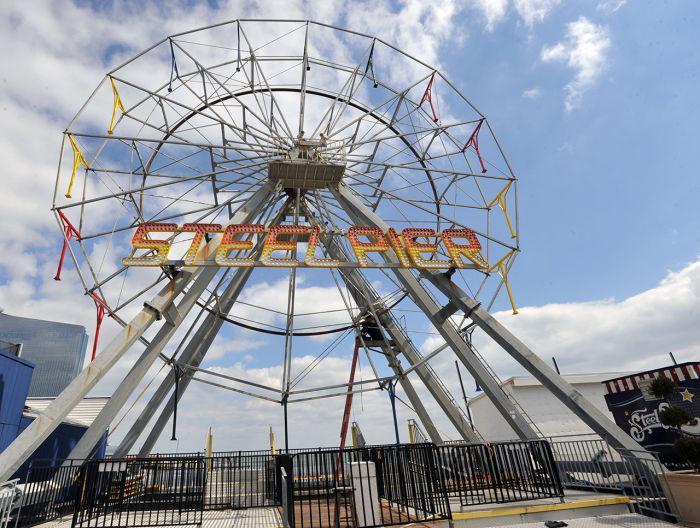 Steel Pier Opens