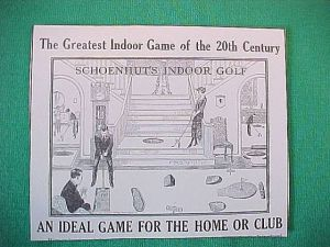 Antiques & Collectibles: North Wildwood reader's Schoenhut parlor golf game still has player appeal