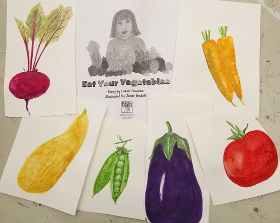 Ventnor residents work together on fun way to 'Eat Your Vegetables'