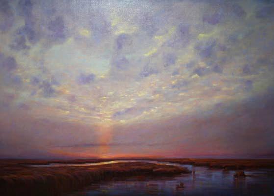 Wetlands painter gets solo exhibit at Noyes Museum