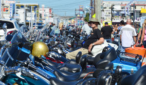 ROAR TO THE SHORE: Saturday September 7 2013 Tens of thousands of motorcycles gather in Wildwood this weekend for the annual Roar to the Shore. (The Press of Atlantic City / Ben Fogletto) - Ben Fogletto