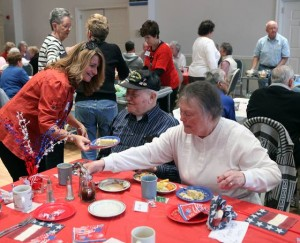 Veterans gather in Absecon for lunch and to learn benefits available to them