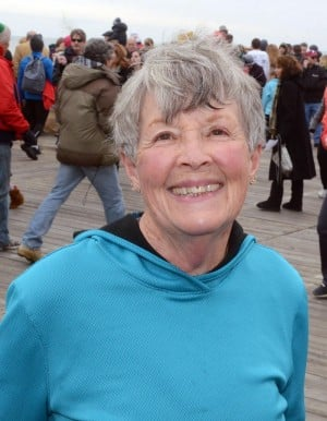 Resolutions: Janet Halasek, 67, of Sea Isle City, has plans to visit Albuquerque, N.M.  - Danny Drake
