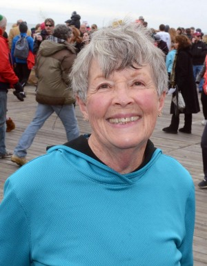 Resolutions: Janet Halasek, 67, of Sea Isle City, has plans to visit Albuquerque, N.M.  - Photo by Danny Drake