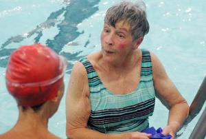 Making waves Seniors find hitting the water  perfect exercise for aging bodies