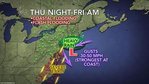 Coastal Flooding map